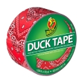 Adhesive Duck Tape with models 48 mm Red Bandana x9m