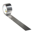 Adhesive Duck Tape metalized  48 mm Chrome x13m