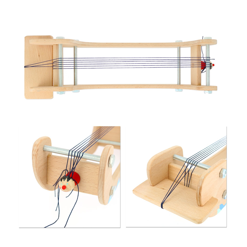 Beading loom Small Foot Design in wood x1 - Perles & Co