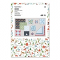 Assortment of origami paper sheets Paper Poetry Winterforest x60