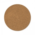 round cork slabs 10 cm Natural x4