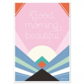 Post card  Fifi Mandirac 15x10.5 cm Good Morning Beautiful x1