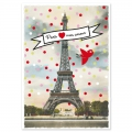 Post card  Fifi Mandirac 15x10.5 cm Paris Mon Amour x1