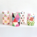 Candle holder card - Lumignonne Fifi Mandirac - Folk Triangles x1