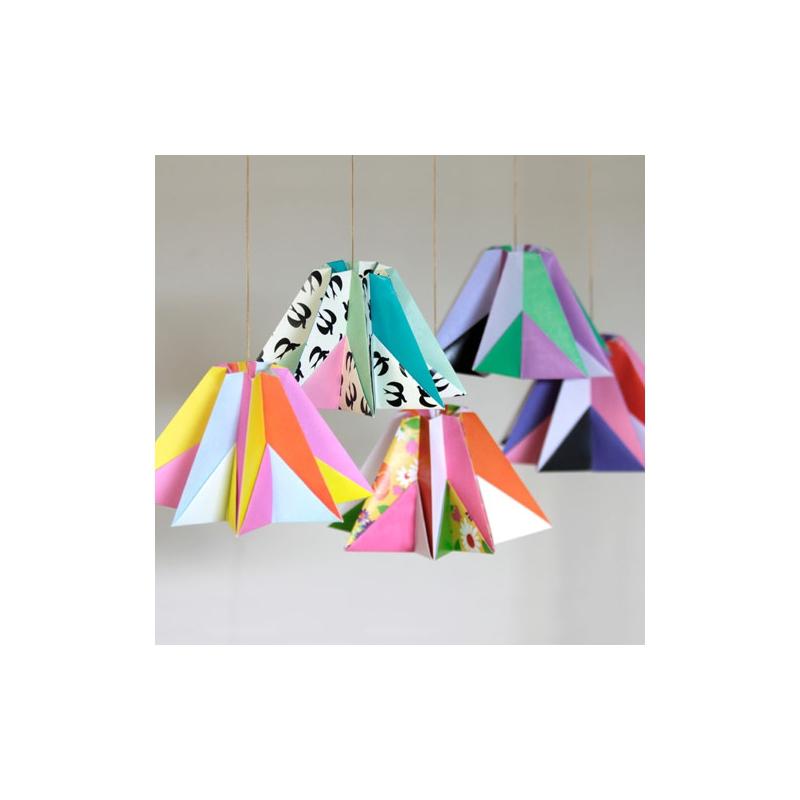 Kit Deco Origami Diamond Fifi Mandirac 13 5x9 5 Cm Papillons X1