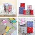 Assortment of origami paper sheets Fifi Mandirac 8x8cm Fanions x18