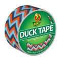 Adhesive Duck Tape with models 48 mm Blue Chevron x9m