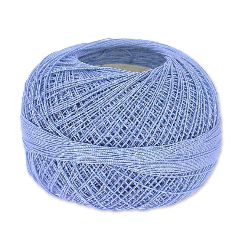 Lizbeth Egyptian Cotton Crochet Thread Size 40 Color 659 Periwinkle