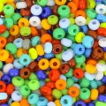 Seed beads 2,5mm Mix Opaque x10g