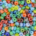 Seed beads 2,5mm Mix Opaque Glossy x10g