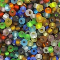 Seed beads 2,5mm Mix Silver Lined Mat x10g