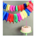 Paper Garland ballons Paper Poetry Multicolour x 6m