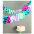 Paper Garland butterfly Paper Poetry Multicolour Pastel x 6m