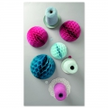 assortment of 3 paper balls Table Deco Paper Poetry Fashion