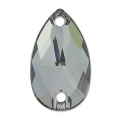 Swarovski 3230 28x17mm Crystal Silver Night x1