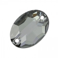 Swarovski 3210 Sew-on Stone 16x11mm Crystal Silver Night x1