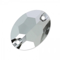 Swarovski 3210 Sew-on Stone 24x17mm Crystal Light Chrome x1