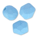 Fire Polished faceted round beads 4mm Opaque Light Azore Silk Mat x50