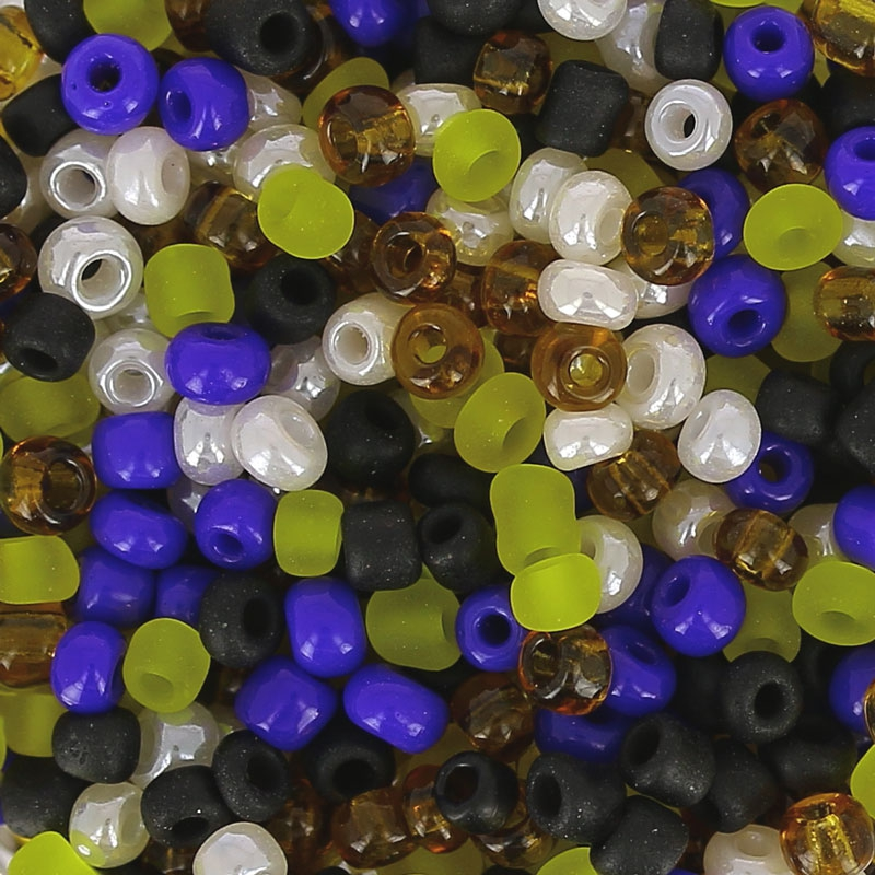 Assortment Of Seed Beads Made By Me 2 Mm Artisan Perles Co