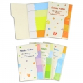 Gift - Assortment of 100 post-it 50 x 15 mm multicolor x100