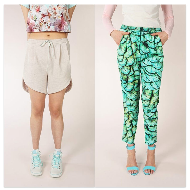 Sewing pattern Named Alexandria Trousers and Short x1 - Named ...