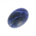 Oval cabochon 14x10mm Sodalite