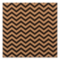 Decorative adhesive sheets in cork 30x30 cm chevron pattern x1
