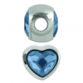 Swarovski 81951 BeCharmed Pavé 14mm Denim Blue x1