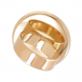 Raw setting ring base with 25mm setting Gold tone rose x1