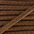 Polyester cord type snake cord 2 mm brown x2m