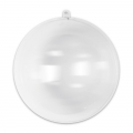 Transparent Xmas ball to fill 200mm x1