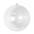 Transparent Xmas ball to fill 160mm x1