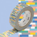 Masking Tape 15 mm Block Cold Blue x10m