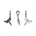 Swarovski 86553 Charms 18mm Crystal x1