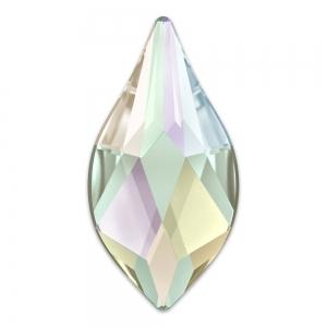 241849199 Flame Strass Hotfix Swarovski 2205 7.5mm Crystal AB - Perles & Co