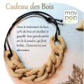 Cadeau des bois Maypop Studio - natural wood powder x150gr