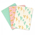 Assortment Paper Poetry Notebook 105x140 mm Tropical Spring x3