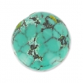 Round cabochon 12mm Turquoise