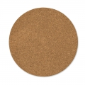 round cork slabs 20 cm Natural x2