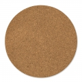round cork slabs 30 cm Natural x2