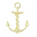 Anchor clasp 42 mm light gold HQ x1