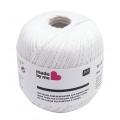 Chain yarn for weaving loom white x 50g