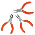 Set of 3 mini pliers