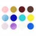 Assortment of 12 colors Velour Powder