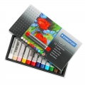 Assortment of 12 soft Karat oil pastels