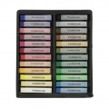 Assortment of 24 soft Karat pastels