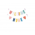 Garland to make  Paper Poetry 14 cm Welcome Home x1