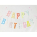 Garland to make  Paper Poetry 14 cm Happy Birthday x1