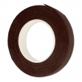 Crepe paper tape for flowers 12 mm Brown x 27.5m