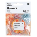 Metal wire for paper flowers 0.5 mm silver tone x20m